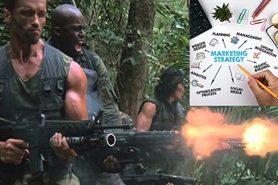 How the 1987 Predator Movie is the Perfect Analogy for the Do's and Don'ts of Online Marketing